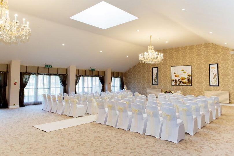 Hadlow Suite Ceremony