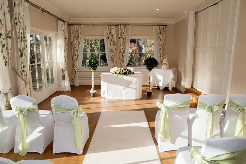 Garden Room Ceremony