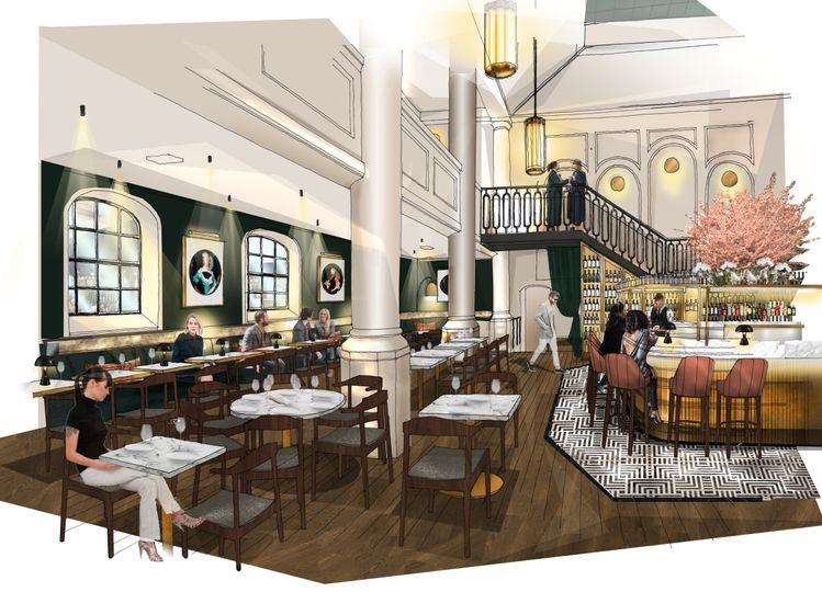 Restaurant (CGI)