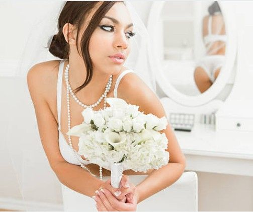 Sophisticating, soft bridal lo