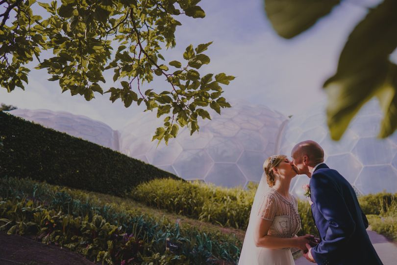 Eden Project Biomes, Real Wedding