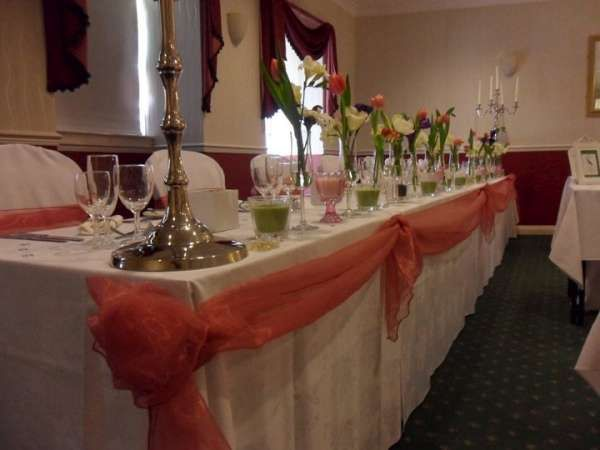 Beautiful top table Swag
