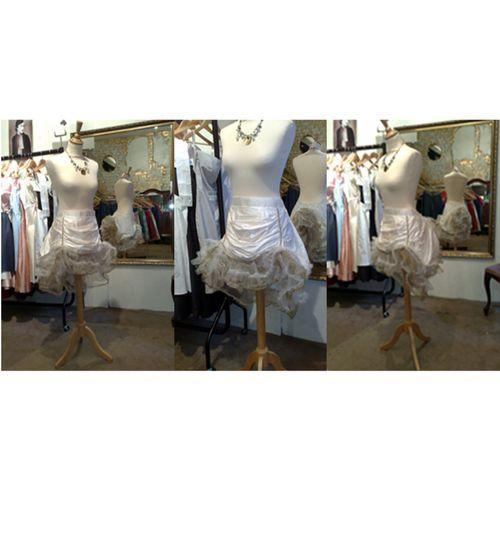 Bespoke silk skirt
