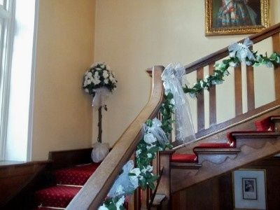 Stairs at the Alverbank Hotel