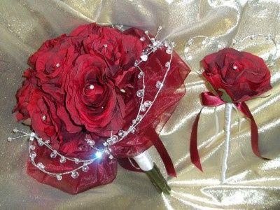 Silk & diamante with wand