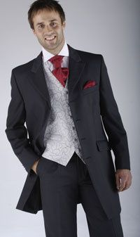 3/4 Length Grey Jacket