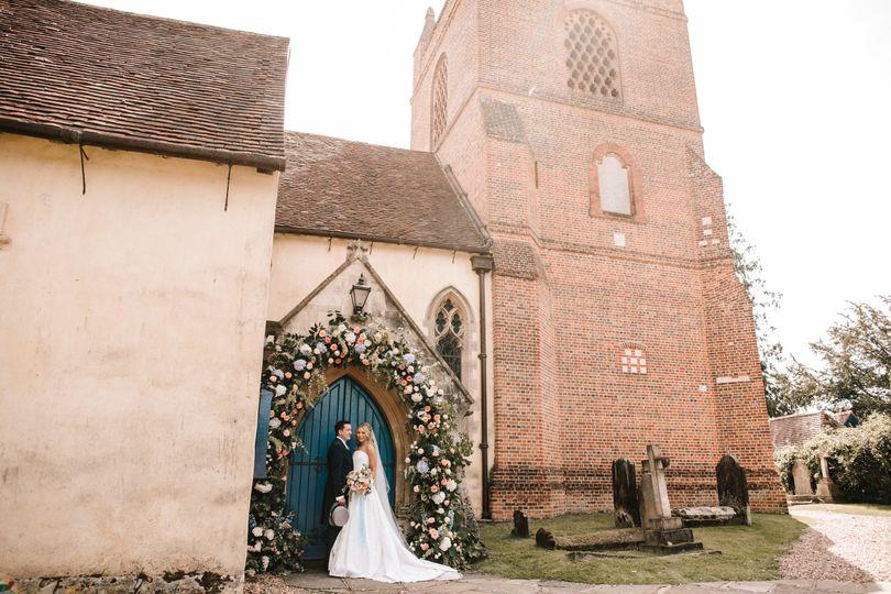 Church Wedding in Berkshire