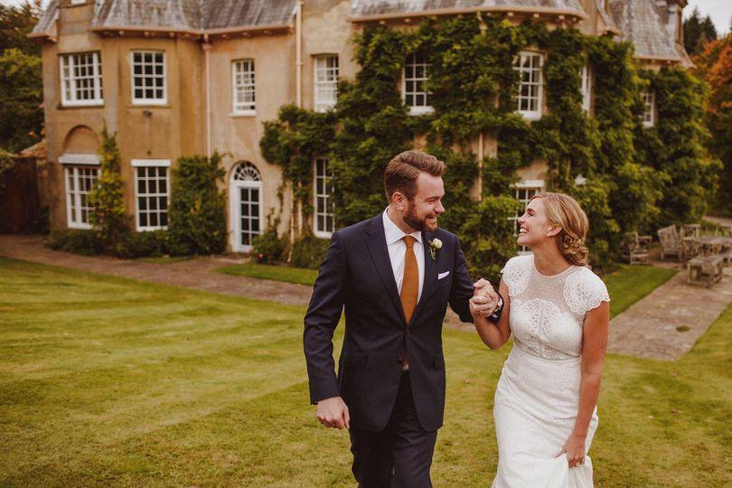 Surrey marquee wedding