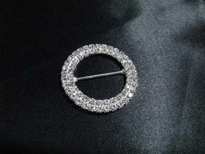 High quality diamante buckles