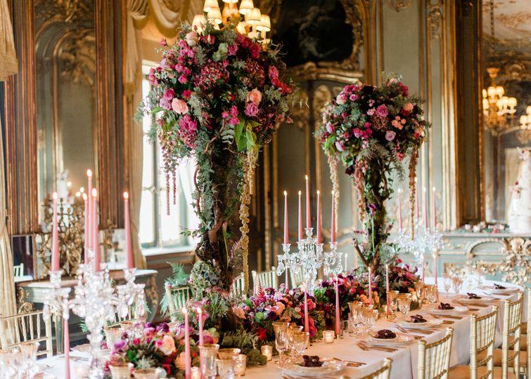 Cliveden House wedding flowers
