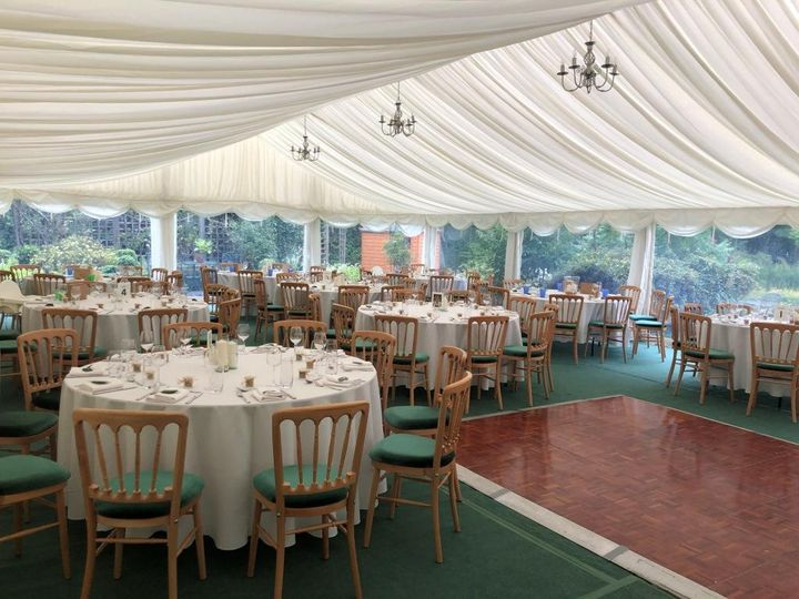 9m wide marquee