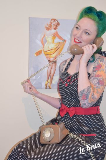 Pin-up photo sessions