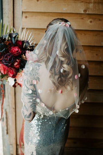 60's inspired Bride