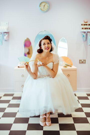 1950's Bridal Prep