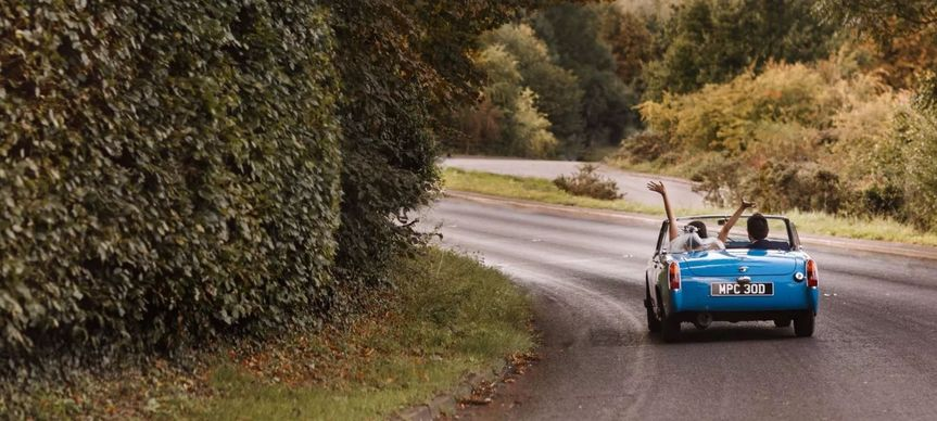 Driving away - Olly Knight Photography