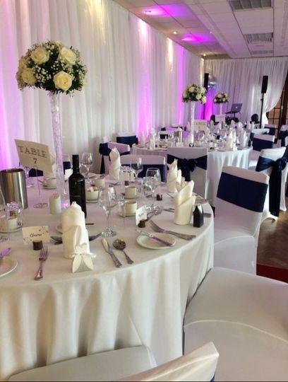Wedding Reception in Lounge 2018