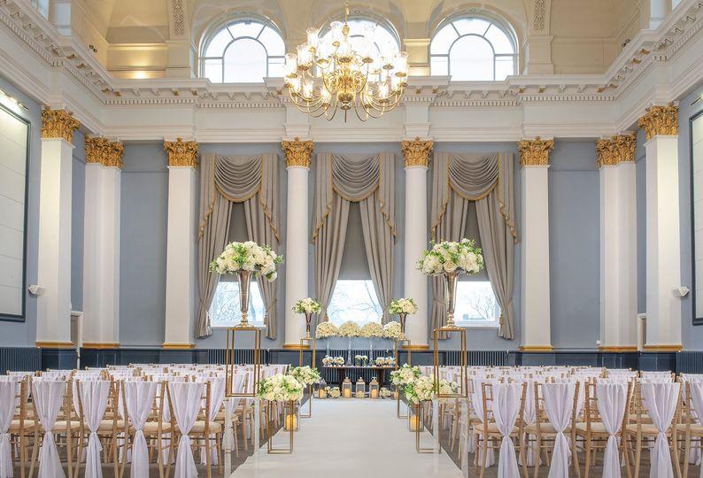 Queens Hall ceremony