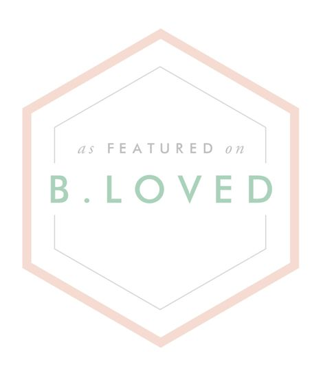 As featured in B.Loved Bridal!