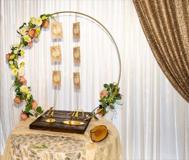 Cake hoop stand