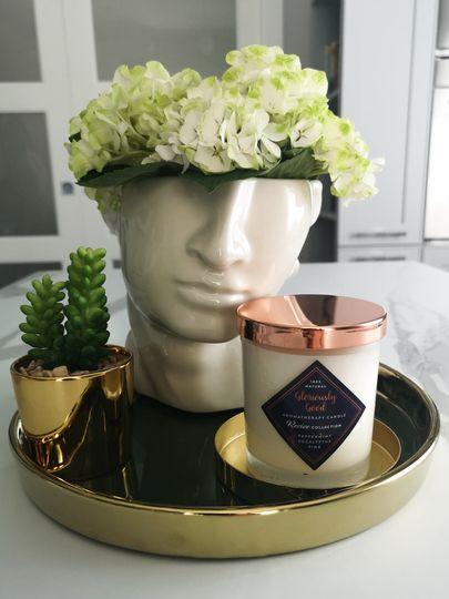 Peppermint & eucalyptus candle