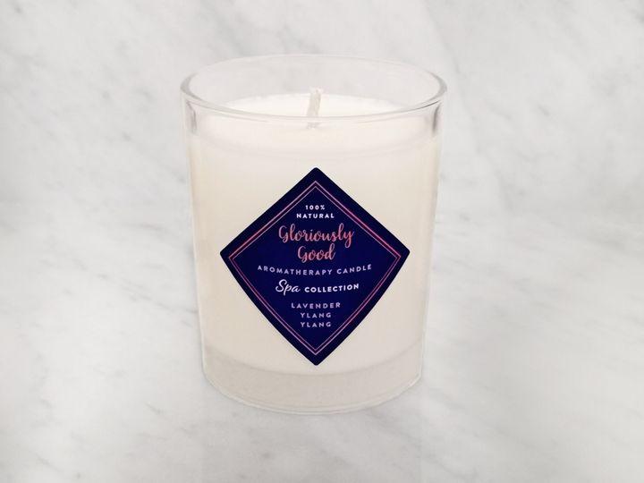 Lavender & ylang ylang candle