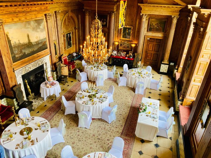 Banqueting Hall regal reception