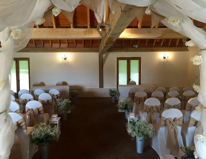 Lytton Barn Ceremony