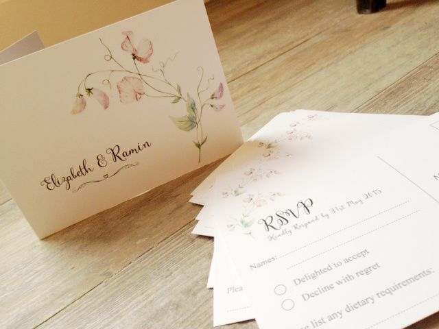 Invitations and rsvps