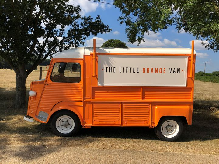 Mobile Bar Services The Little Orange Van 2