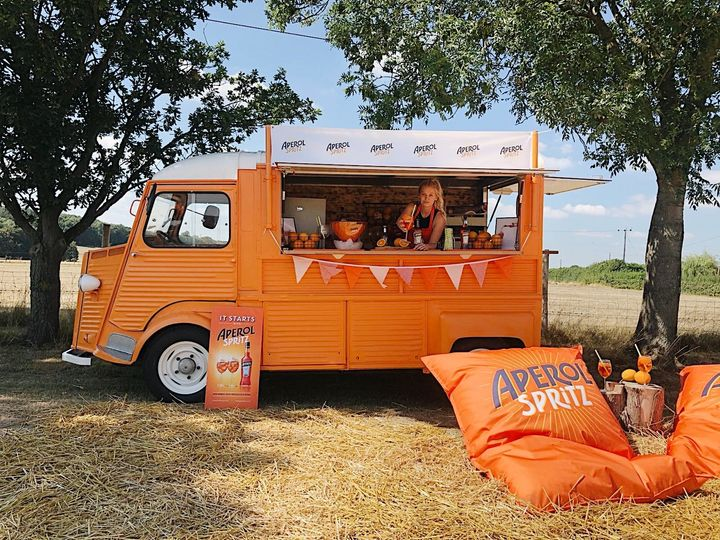 Mobile Bar Services The Little Orange Van 8