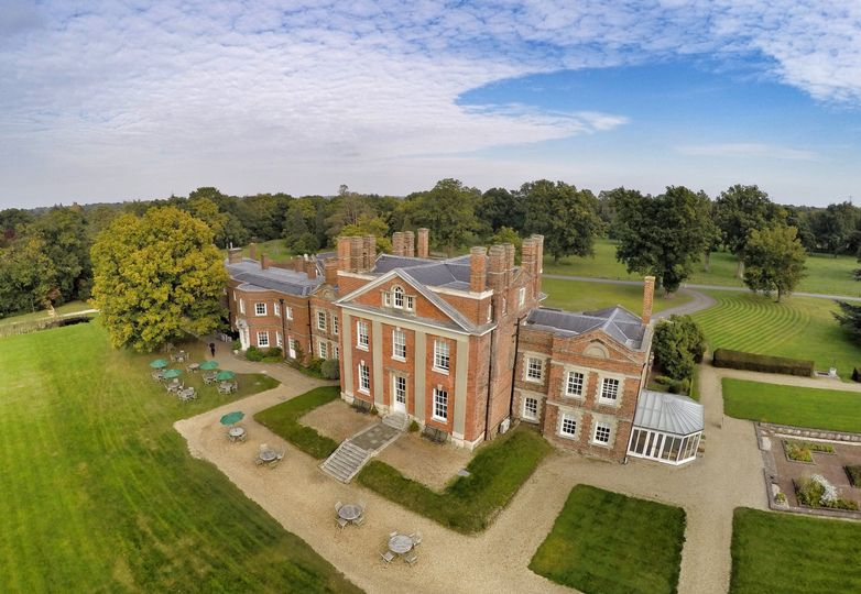 Warbrook from above!