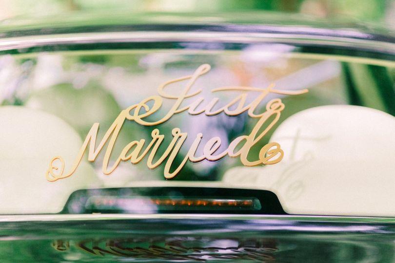 Charlotte Munro Weddings just married