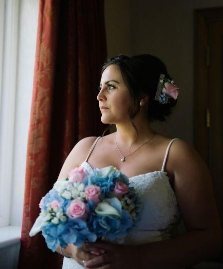 Portrait of the bride - AR Wedding Photography