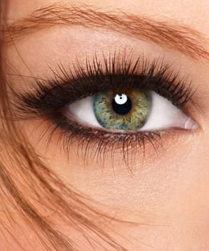 Example of eyelash extensions