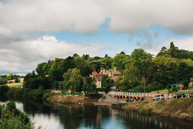 On the banks of the River Severn