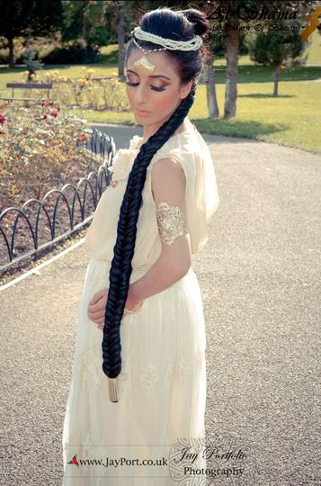 Hair and makeup by Al Shama