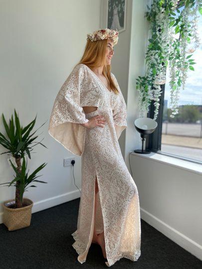 Whimsical kimono style