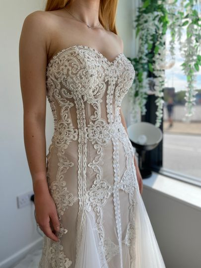 Luxe embellished dress