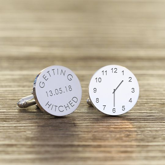 Getting Hitched Cufflinks