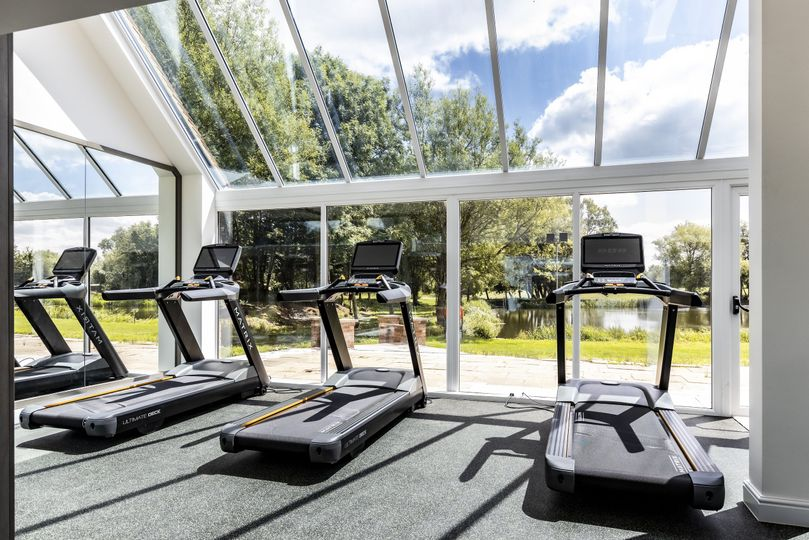 Fitness centre available