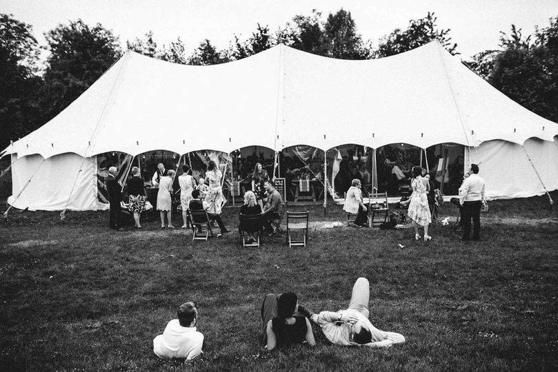 Chilled-out wedding