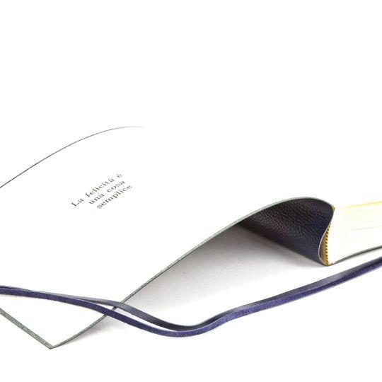 Inscription inside Album