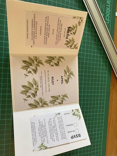 Botanical 5 piece pocket set
