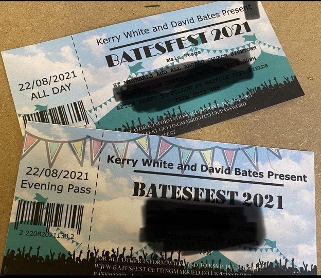 Festival invitations