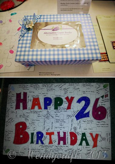 Jigsaw Puzzle Guest Books