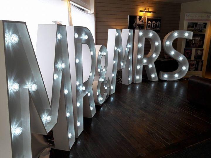 Large LED letters