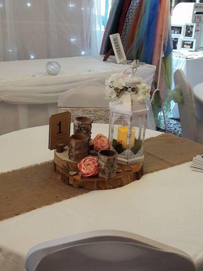 Table centre decor