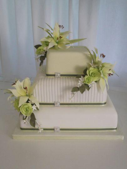 Tropical fantasy Wedding Cake