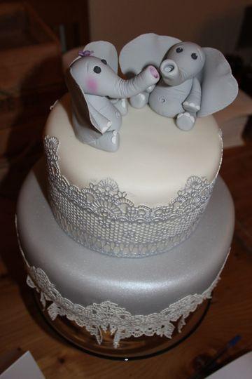 Elephants and lace