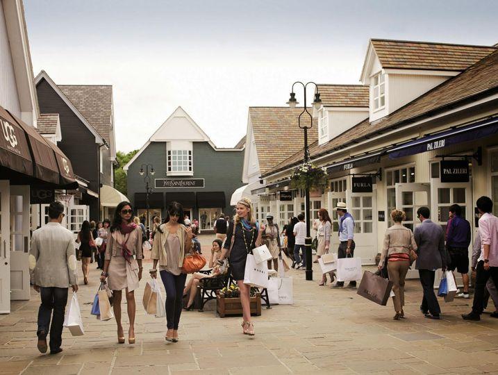 A designer shopping excursion